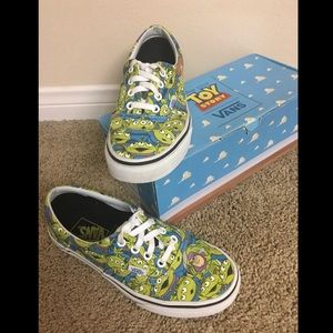 Limited Edition Toy Story Aliens Vans Buzz Woody